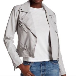 Blank NYC faux vegan leather jacket